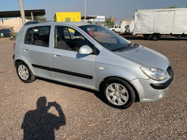 Used Hyundai Getz  GL, 2009 Hyundai Getz GL Silver 4 Speed Auto Active Select Hatchback