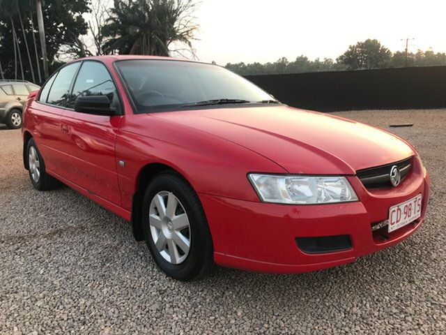 Used Holden Commodore VZ MY06 Executive, 2006 Holden Commodore VZ MY06 Executive Red 4 Speed Automatic Sedan
