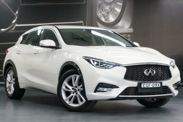 Used Infiniti Q30 H15 GT D-CT, 2017 Infiniti Q30 H15 GT D-CT White 7 Speed Sports Automatic Dual Clutch Wagon