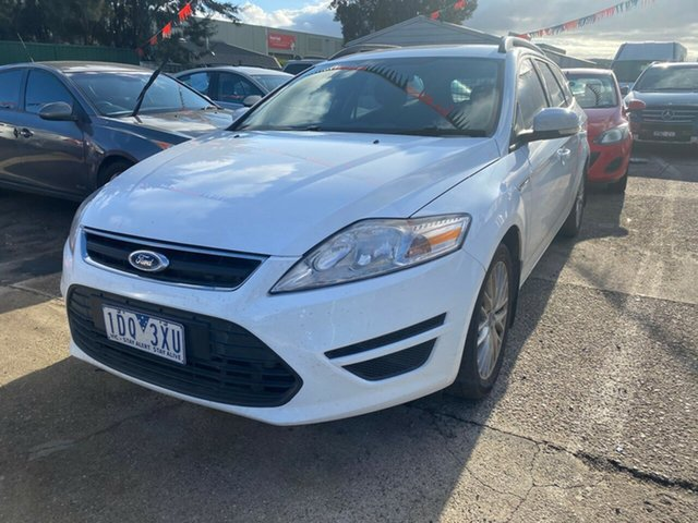 Used Ford Mondeo MC LX TDCi Hoppers Crossing, 2011 Ford Mondeo MC LX TDCi White 6 Speed Direct Shift Wagon