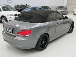 2010 BMW 1 Series E88 MY10 118d Steptronic Grey 6 Speed Sports Automatic Convertible