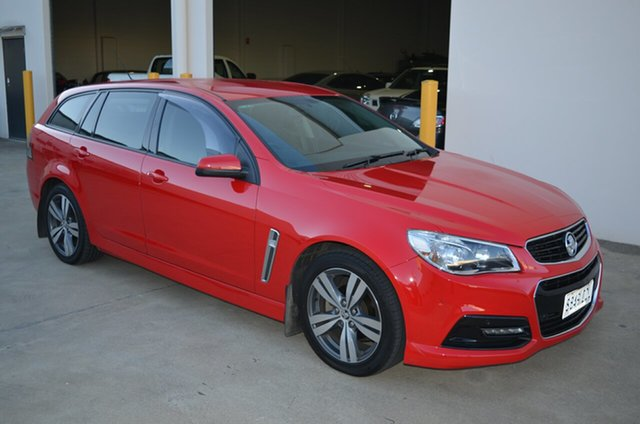 Used Holden Commodore VF SV6, 2013 Holden Commodore VF SV6 Red 6 Speed Automatic Sportswagon