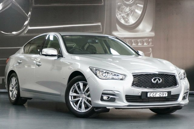 Used Infiniti Q50 V37 GT, 2017 Infiniti Q50 V37 GT Silver 7 Speed Sports Automatic Sedan