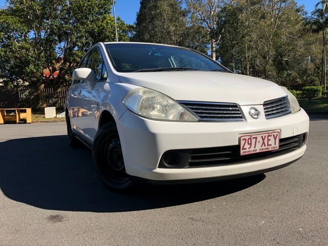 Used Nissan Tiida  , 2008 Nissan Tiida STC11 MY07 White Automatic Sedan