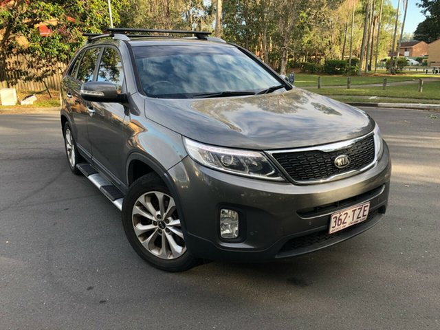 Used Kia Sorento XM MY14 SLi (4x2), 2014 Kia Sorento XM MY14 SLi (4x2) Grey 6 Speed Automatic Wagon