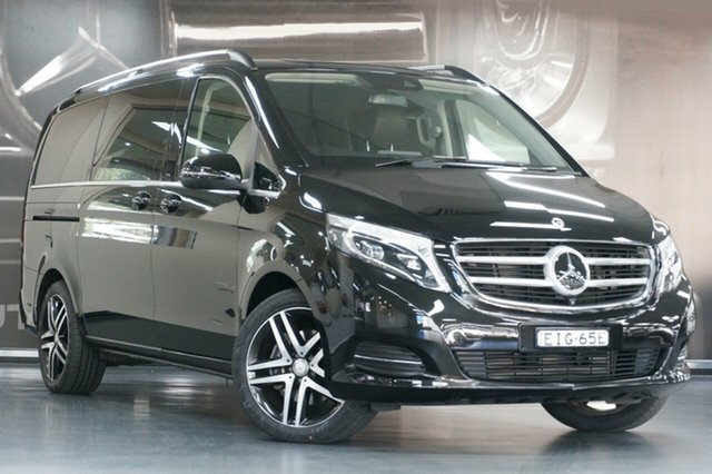 Used Mercedes-Benz V-Class 447 V250 d 7G-Tronic + Avantgarde, 2018 Mercedes-Benz V-Class 447 V250 d 7G-Tronic + Avantgarde Black 7 Speed Sports Automatic Wagon