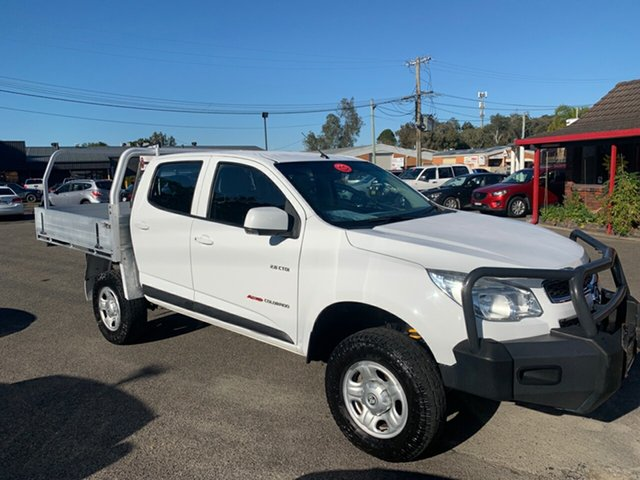 Used Holden Colorado  , 2013 Holden Colorado 4X4 2.8 DIESEL ALLOY TRAY White 5 Speed Automatic Dual Cab