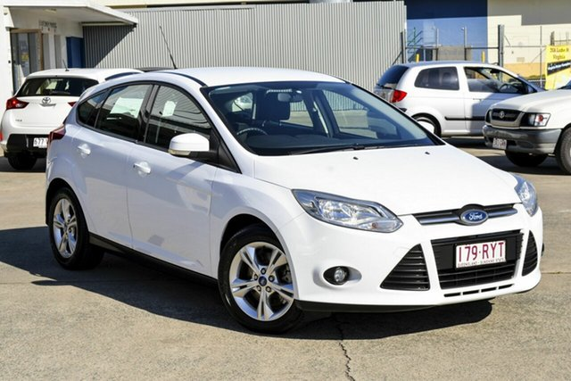 Used Ford Focus LW Trend, 2011 Ford Focus LW Trend White 5 Speed Manual Hatchback