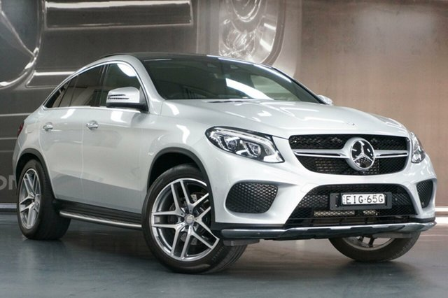 Used Mercedes-Benz GLE-Class W166 GLE350 d 9G-Tronic 4MATIC, 2015 Mercedes-Benz GLE-Class W166 GLE350 d 9G-Tronic 4MATIC Silver 9 Speed Sports Automatic Wagon