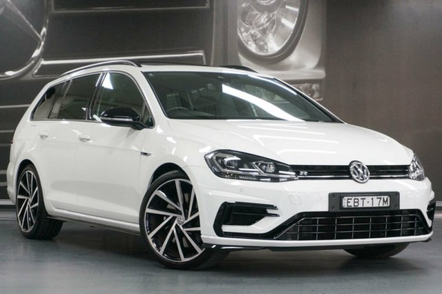 Used Volkswagen Golf 7.5 MY18 R DSG 4MOTION Grid Edition, 2018 Volkswagen Golf 7.5 MY18 R DSG 4MOTION Grid Edition White 7 Speed Sports Automatic Dual Clutch