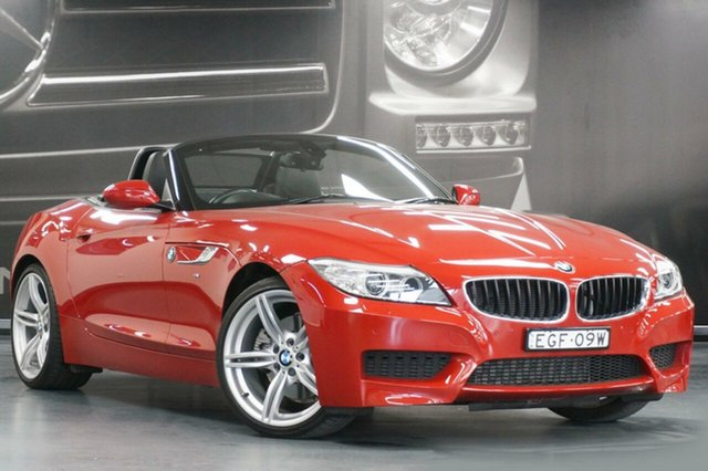 Used BMW Z4 E89 LCI MY0313 sDrive28i, 2014 BMW Z4 E89 LCI MY0313 sDrive28i Red 8 Speed Sports Automatic Roadster