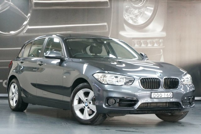 Used BMW 1 Series F20 LCI 118i Steptronic Sport Line, 2017 BMW 1 Series F20 LCI 118i Steptronic Sport Line Grey 8 Speed Sports Automatic Hatchback