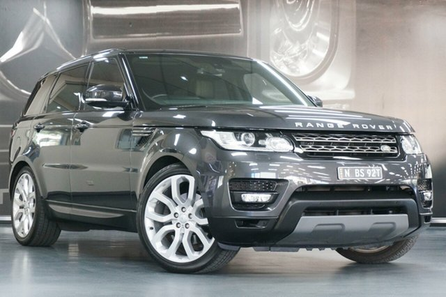 Used Land Rover Range Rover Sport L494 16MY TDV6 SE, 2015 Land Rover Range Rover Sport L494 16MY TDV6 SE Carpathian Grey 8 Speed Sports Automatic Wagon