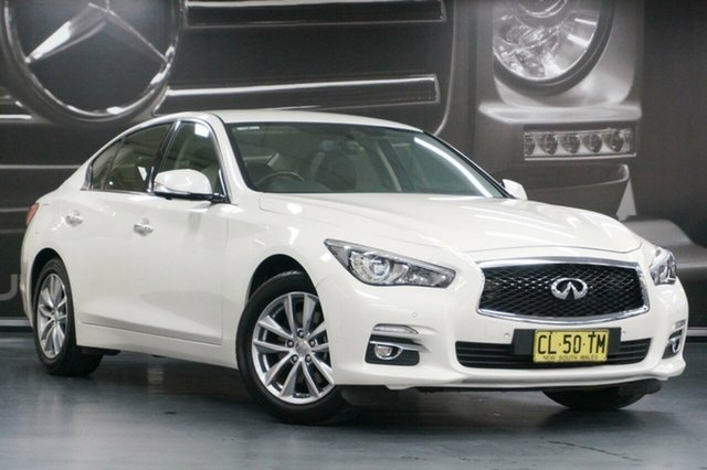 Used Infiniti Q50 V37 GT, 2017 Infiniti Q50 V37 GT White 7 Speed Sports Automatic Sedan