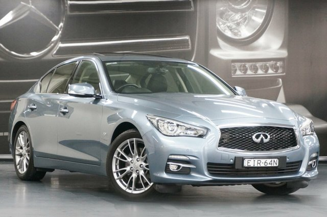 Used Infiniti Q50 V37 S, 2016 Infiniti Q50 V37 S Blue 7 Speed Sports Automatic Sedan