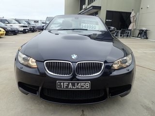 2009 BMW M3 E93 MY10 M-DCT Carbon Black 7 Speed Sports Automatic Dual Clutch Convertible.