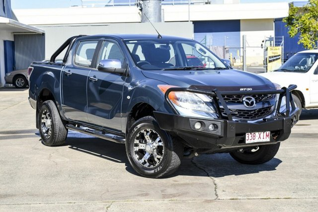 Used Mazda BT-50 UP0YF1 XTR, 2013 Mazda BT-50 UP0YF1 XTR Blue 6 Speed Manual Utility