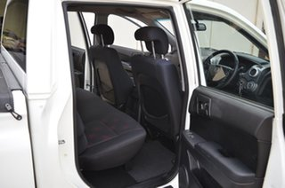2010 Ssangyong Actyon Sports Q100 MY08 White 5 Speed Manual Double Cab Utility