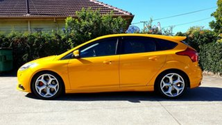 2012 Ford Focus LW MkII ST Tangerine Scream 6 Speed Manual Hatchback.