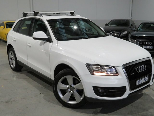 Used Audi Q5 8R MY10 TDI S Tronic Quattro, 2010 Audi Q5 8R MY10 TDI S Tronic Quattro White 7 Speed Sports Automatic Dual Clutch Wagon