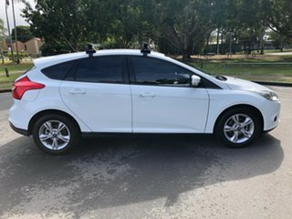 2014 Ford Focus LW MK2 MY14 Trend White 5 Speed Manual Hatchback.
