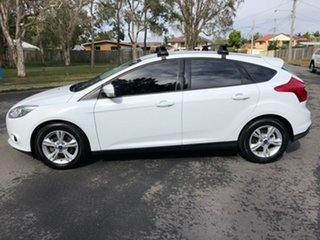 2014 Ford Focus LW MK2 MY14 Trend White 5 Speed Manual Hatchback