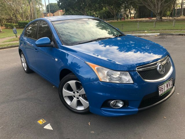 Used Holden Cruze  , 2013 Holden Cruze CDJH MY13 Blue Manual Hatchback