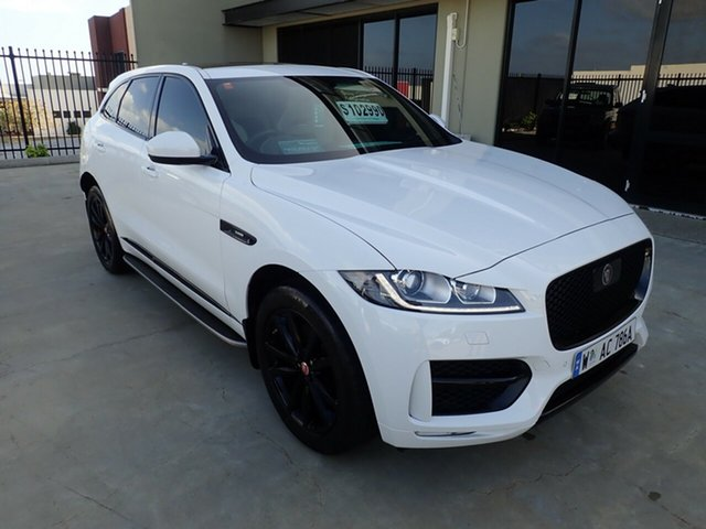 Used Jaguar F-PACE X761 MY20 30d AWD R-Sport, 2019 Jaguar F-PACE X761 MY20 30d AWD R-Sport Fuji White 8 Speed Sports Automatic Wagon