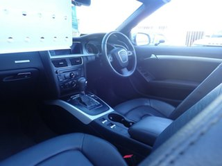 2010 Audi A5 8T MY11 Multitronic Cosmic Grey 8 Speed Constant Variable Cabriolet