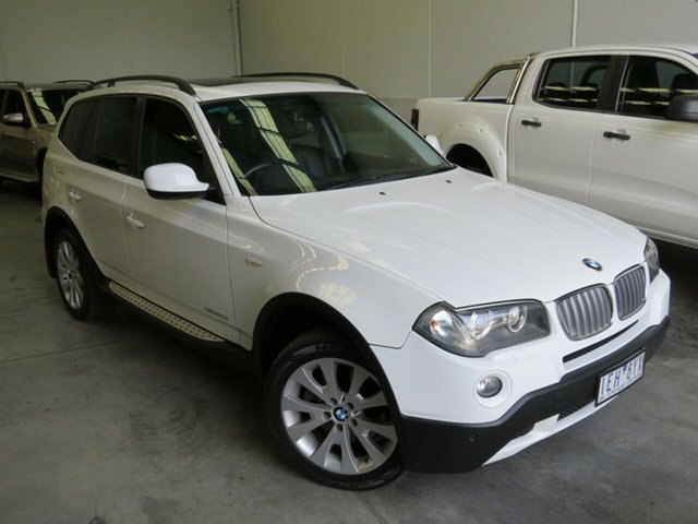 Used BMW X3 E83 MY10 xDrive20d Steptronic Lifestyle Seaford, 2010 BMW X3 E83 MY10 xDrive20d Steptronic Lifestyle White 6 Speed Automatic Wagon