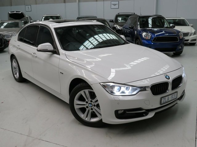 Used BMW 320i F30 , 2012 BMW 320i F30 White 8 Speed Sports Automatic Sedan