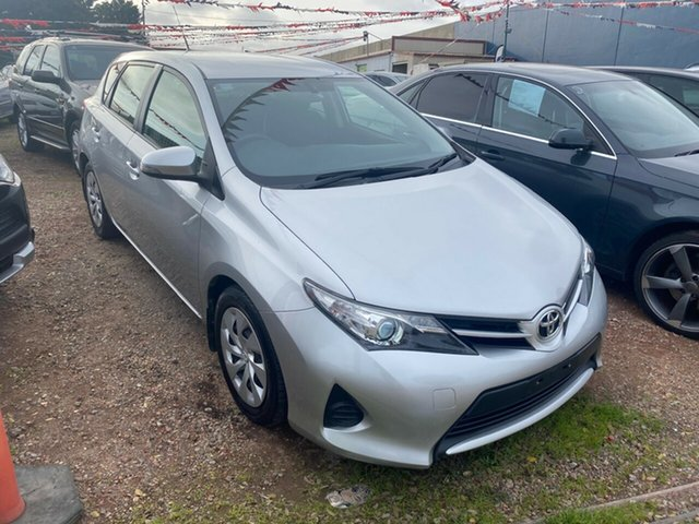 Used Toyota Corolla ZRE182R Ascent Hoppers Crossing, 2013 Toyota Corolla ZRE182R Ascent Silver 7 Speed CVT Auto Sequential Hatchback