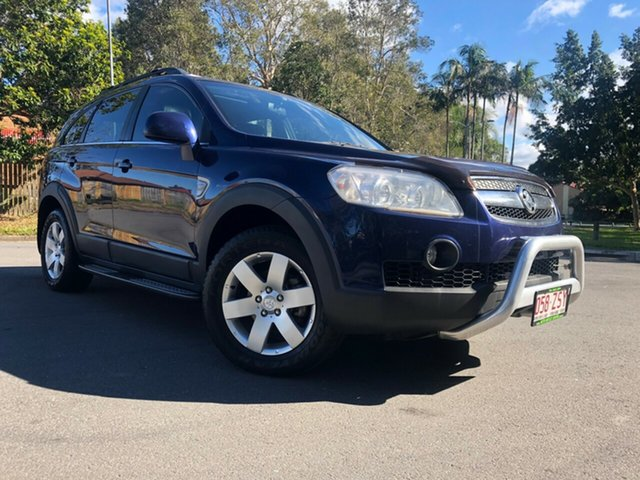 Used Holden Captiva CG MY10 CX (4x4), 2010 Holden Captiva CG MY10 CX (4x4) Blue 5 Speed Automatic Wagon