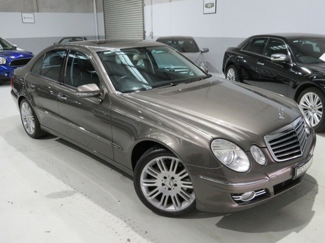 Used Mercedes-Benz E-Class W211 MY07 E280 CDI Avantgarde Seaford, 2007 Mercedes-Benz E-Class W211 MY07 E280 CDI Avantgarde Sandine Beige 7 Speed Sports Automatic