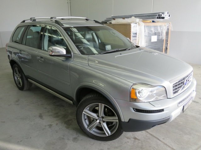 Used Volvo XC90 P28 MY12 D5 Geartronic R-Design Seaford, 2011 Volvo XC90 P28 MY12 D5 Geartronic R-Design Silver 6 Speed Sports Automatic Wagon