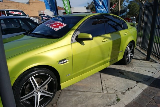 Used Holden Commodore VE MY08 SS-V, 2007 Holden Commodore VE MY08 SS-V Green 6 Speed Automatic Sedan