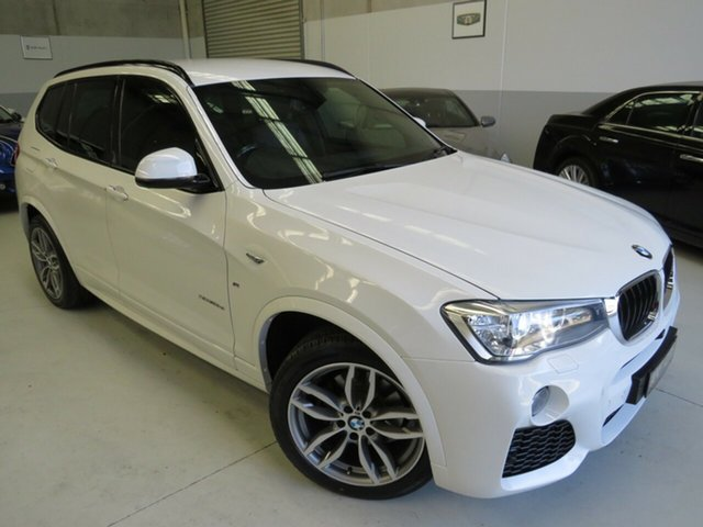 Used BMW X3 F25 LCI xDrive20d Steptronic, 2017 BMW X3 F25 LCI xDrive20d Steptronic Alpine White 8 Speed Automatic Wagon