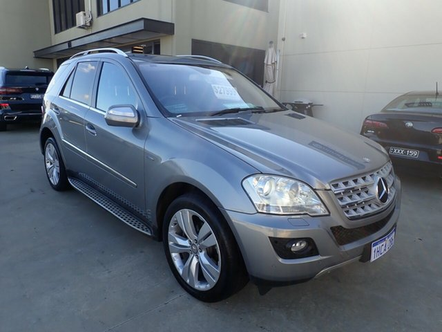 Used Mercedes-Benz M-Class W164 MY10 ML350 CDI BlueEFFICIENCY Wangara, 2010 Mercedes-Benz M-Class W164 MY10 ML350 CDI BlueEFFICIENCY Dolphin Grey 7 Speed Sports Automatic
