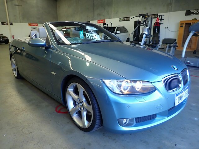 Used BMW 3 Series E93 MY08 325i Steptronic, 2008 BMW 3 Series E93 MY08 325i Steptronic Atlantic Blue 6 Speed Sports Automatic Convertible