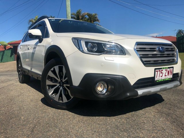 Used Subaru Outback MY15 2.0D Premium AWD, 2016 Subaru Outback MY15 2.0D Premium AWD White Continuous Variable Wagon