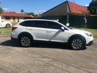 2016 Subaru Outback MY15 2.0D Premium AWD White Continuous Variable Wagon.