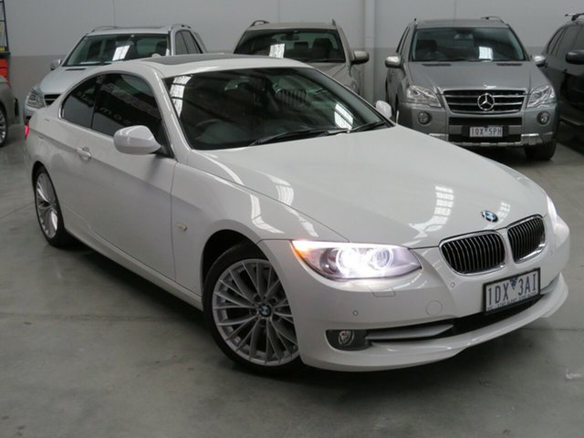 Used BMW 330d E92 MY11 , 2011 BMW 330d E92 MY11 White 7 Speed Auto Direct Shift Coupe