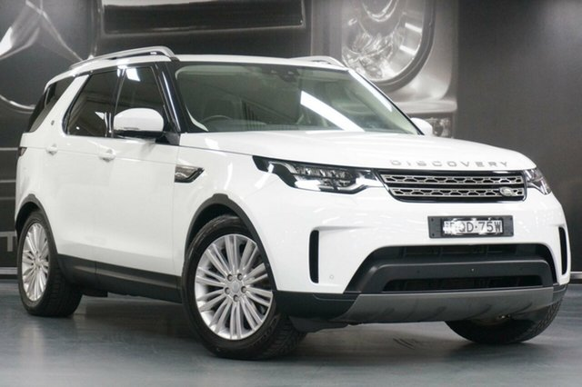 Used Land Rover Discovery Series 5 L462 MY18 Td4 SE, 2017 Land Rover Discovery Series 5 L462 MY18 Td4 SE Fuji White 8 Speed Sports Automatic Wagon