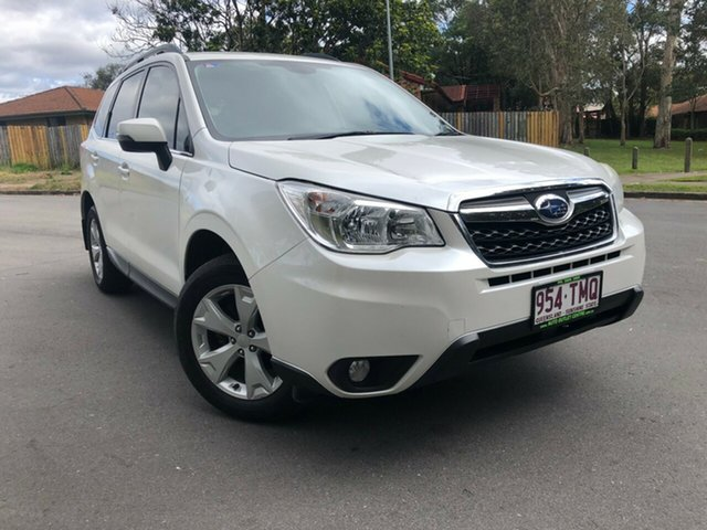 Used Subaru Forester  , 2013 Subaru Forester 2.5I-L White Continuous Variable Wagon