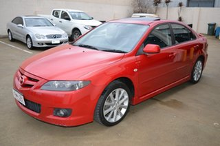 2005 Mazda 6 GG 05 Upgrade Luxury Sports Red 5 Speed Auto Activematic Hatchback.
