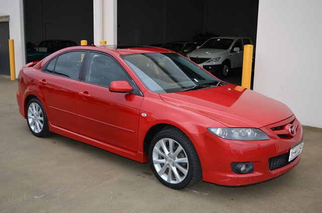 Used Mazda 6 GG 05 Upgrade Luxury Sports, 2005 Mazda 6 GG 05 Upgrade Luxury Sports Red 5 Speed Auto Activematic Hatchback