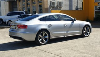 2015 Audi A5 8T MY15 Sportback Multitronic Silver Metallic 8 Speed Constant Variable Hatchback