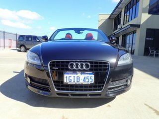 2009 Audi TT 8J MY10 S Tronic Quattro Black Magic 6 Speed Sports Automatic Dual Clutch Roadster