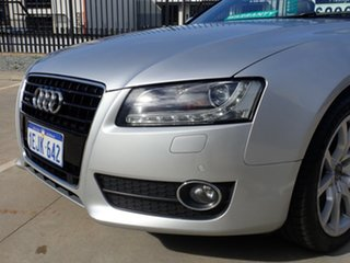 2009 Audi A5 8T MY10 S Tronic Quattro Grey Metallic 7 Speed Sports Automatic Dual Clutch Cabriolet