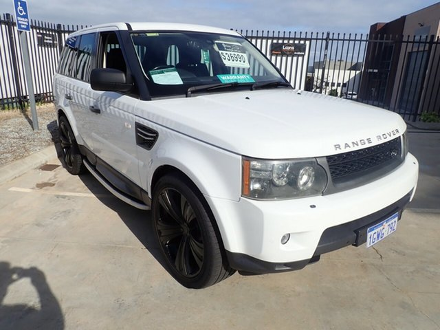 Used Land Rover Range Rover Sport L320 11MY TDV6, 2010 Land Rover Range Rover Sport L320 11MY TDV6 Polar White 6 Speed Sports Automatic Wagon